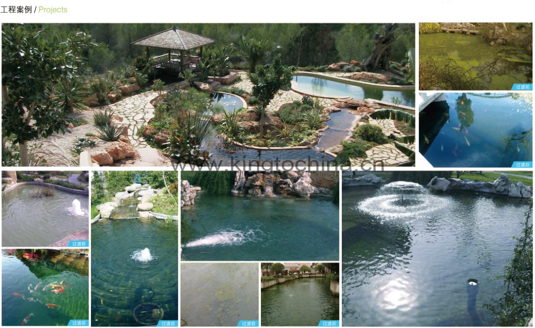 鱼池过滤器_MINI海绵过滤器 HBF 1, 小型景观鱼池过滤器, 高档生物过滤器, 别墅 ...